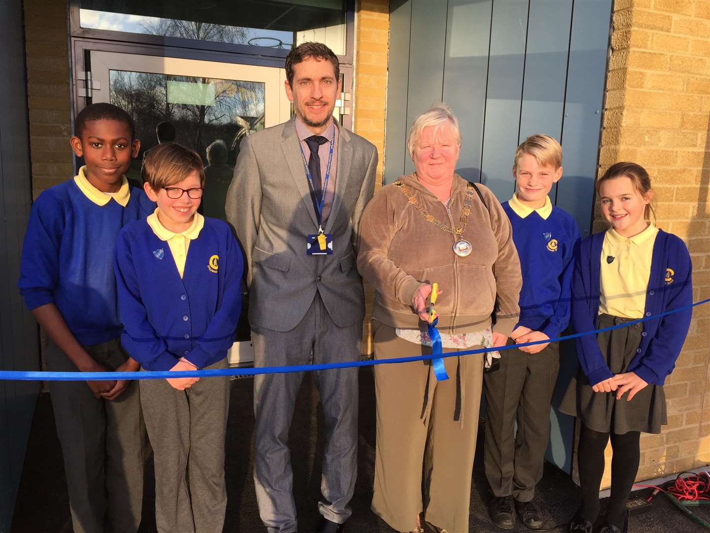 Mayor of Swanscombe and Greenhithe, Cllr Anita Barham, declared the building officially open.