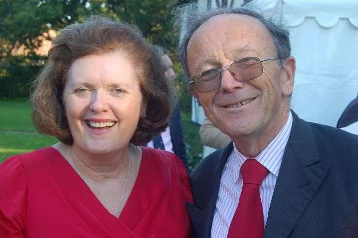 Husband and wife Andrew Patience QC and Adele Williams