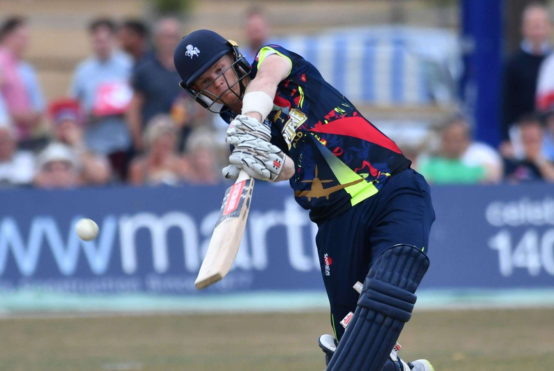 Kent captain Sam Billings has been named in England's 14-man squad for their one-day series against Ireland. Picture: Keith Gillard