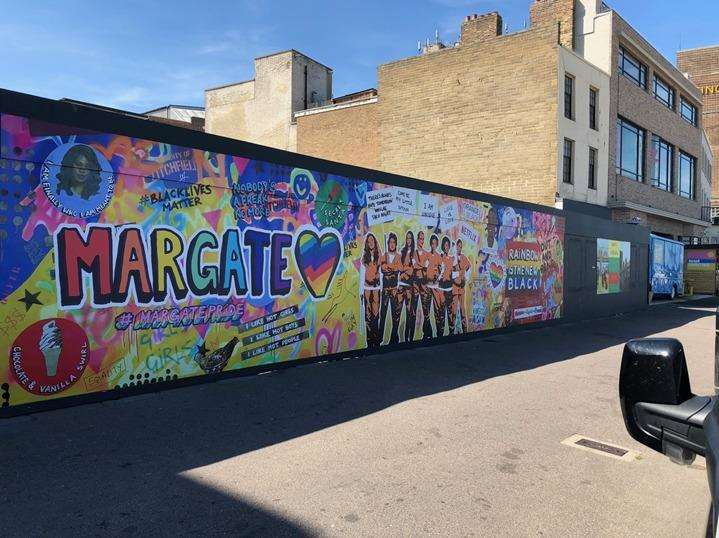 The mural in Margate (3527746)