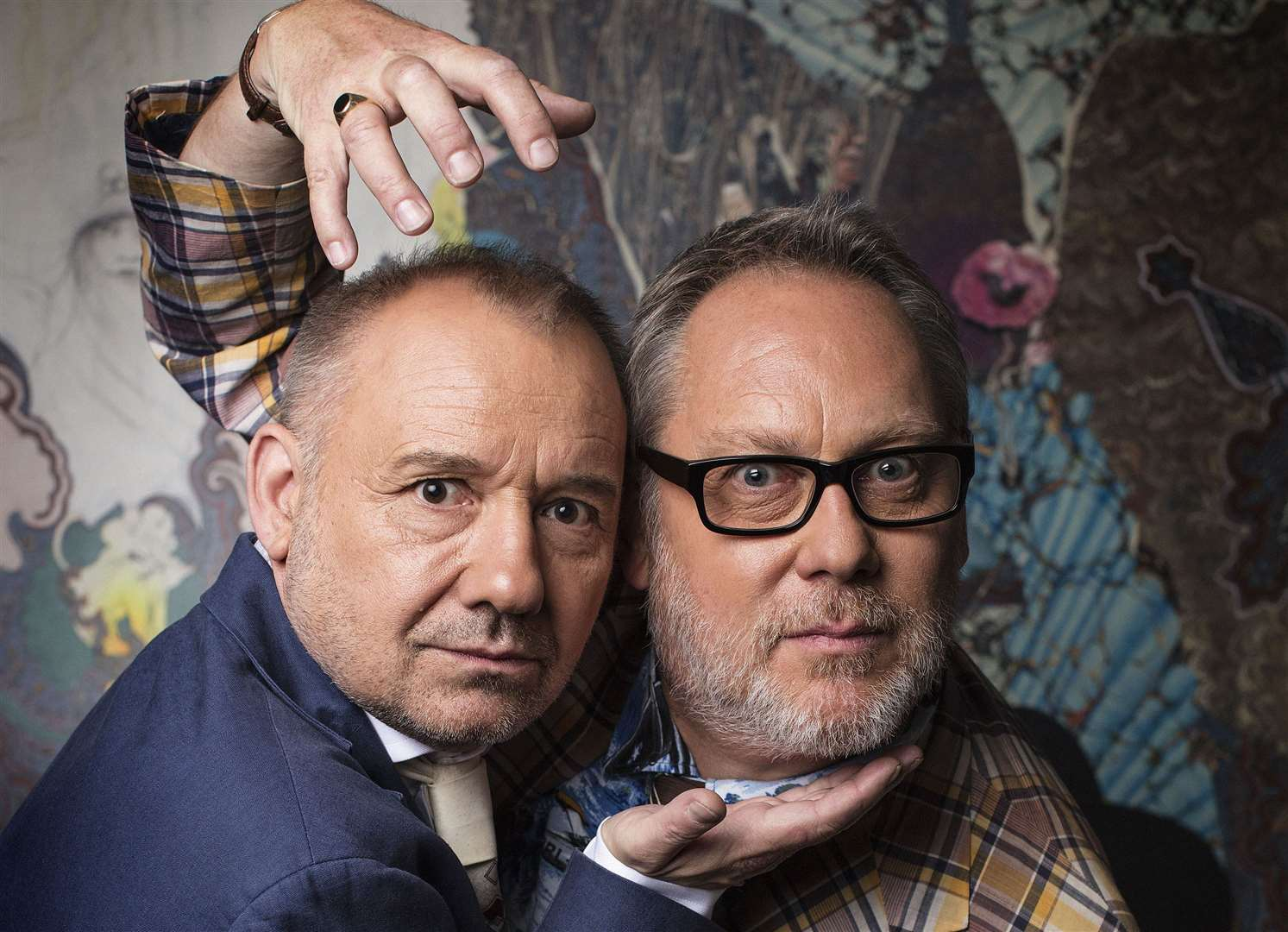 Both Vic Reeves and Bob Mortimer have long called Ken home Picture: BBC