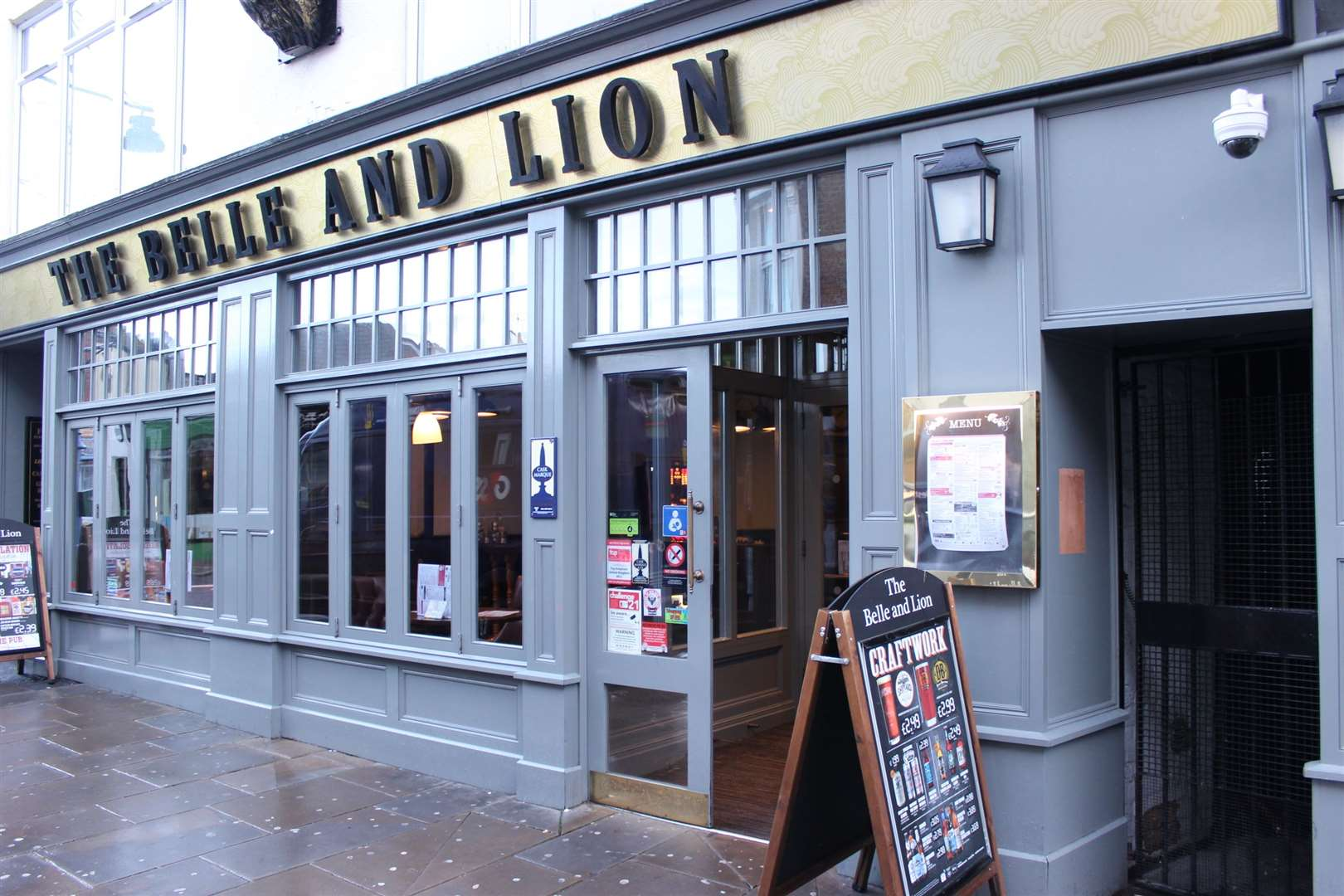 Kent has 23 Wetherspoons, including the Belle and Lion pub in Sheerness High Street
