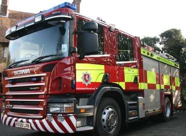 Emergency Services Called To Junction Of Boys Hall Road