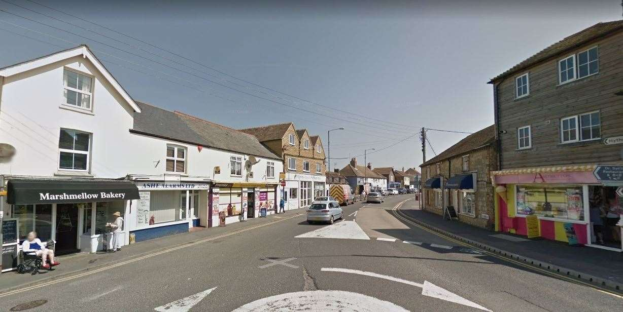 Dymchurch High Street junction with Mill Road. Picture: Google (9719115)