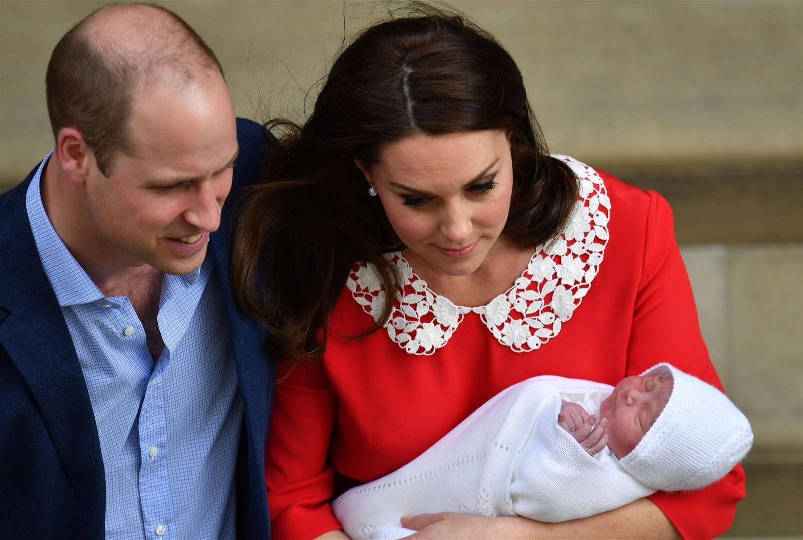 You Probably Missed This Sassy Princess Charlotte Moment at Prince Louis's Christening