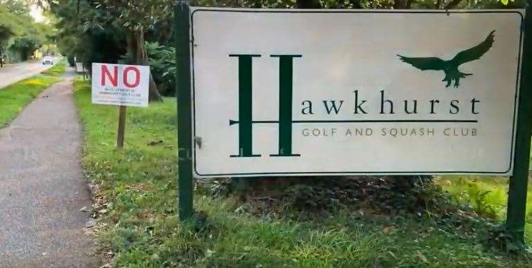 Hawkhurst Golf Club comprises a golf course, club house and squash courts