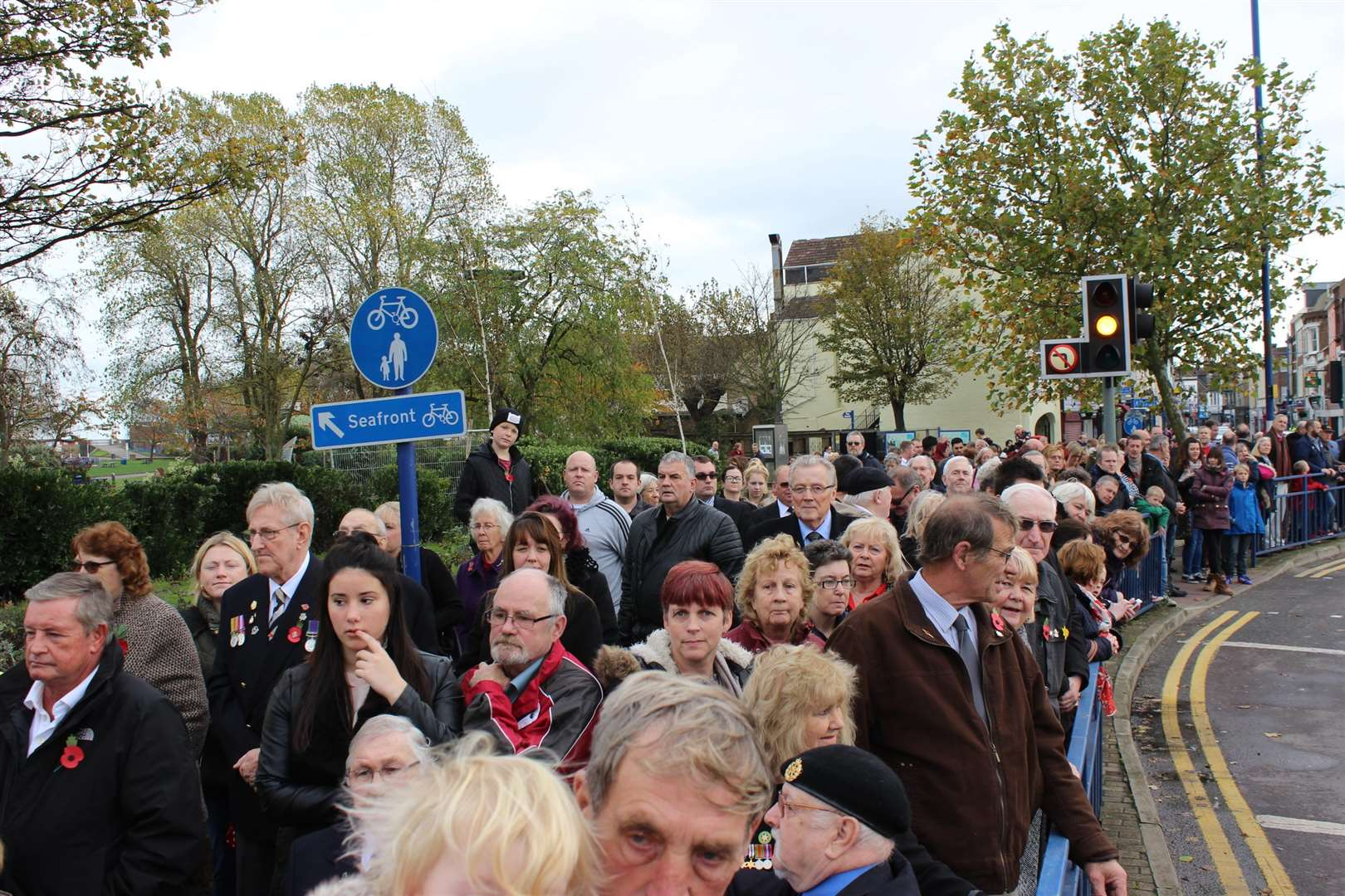 Big crowds are expected at the Sheerness cenotaph on Sunday (5296218)