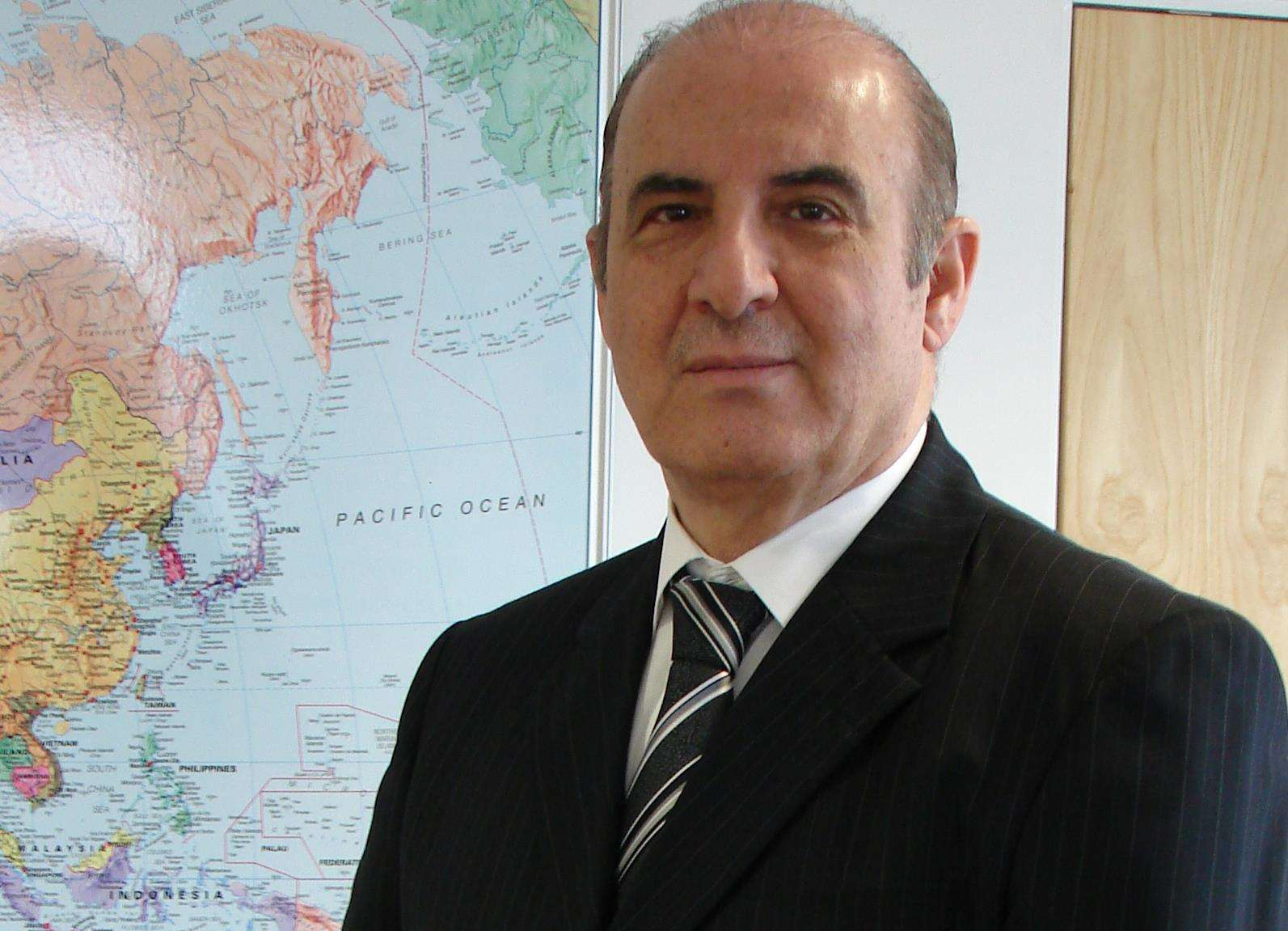 Lydd Airport executive manager Hani Mutlaq