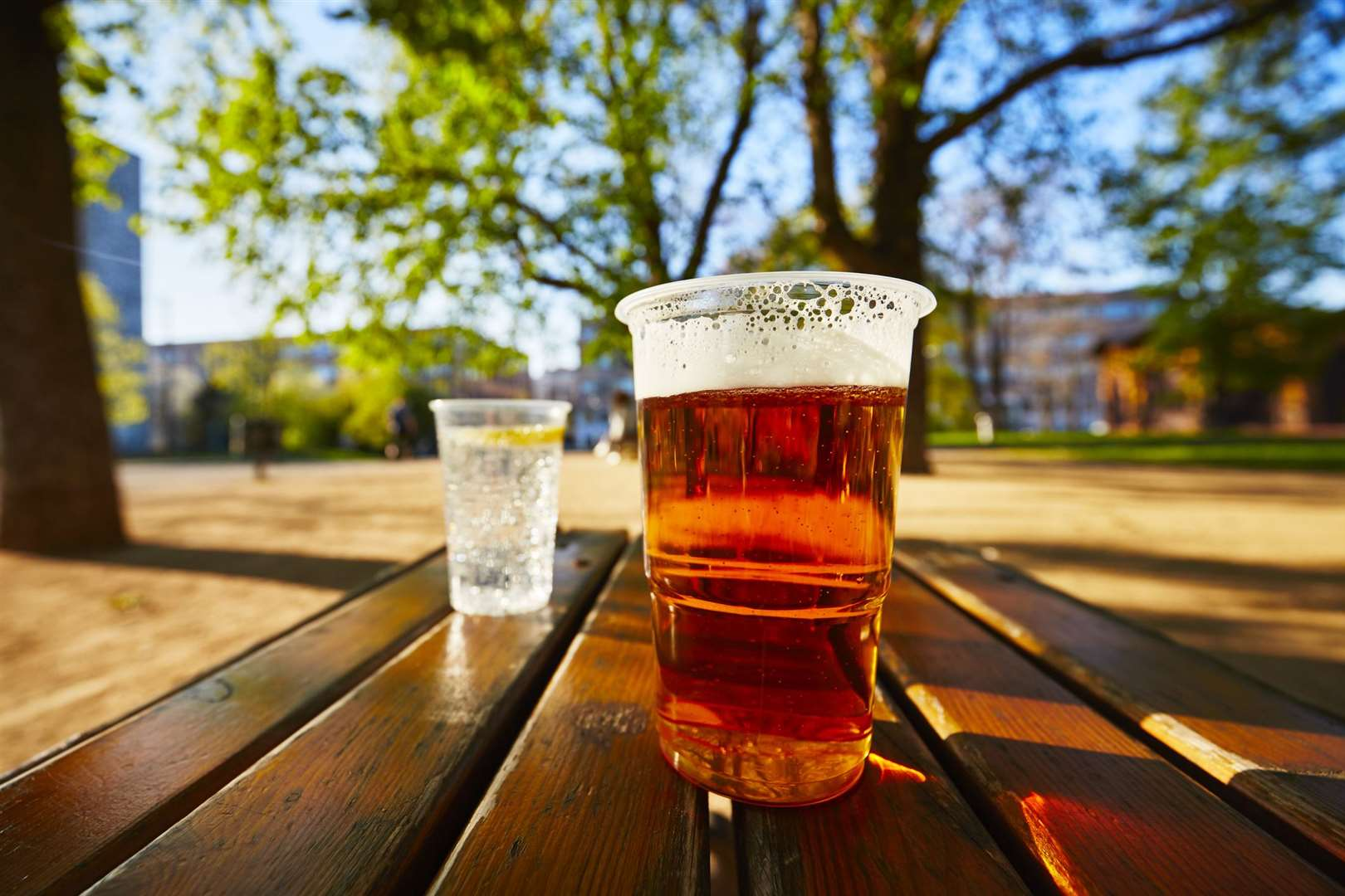 From April 12 Kent pubs will throw open their outside doors for al fresco drinking (but you'll have to wait for May 17 for indoor boozing)
