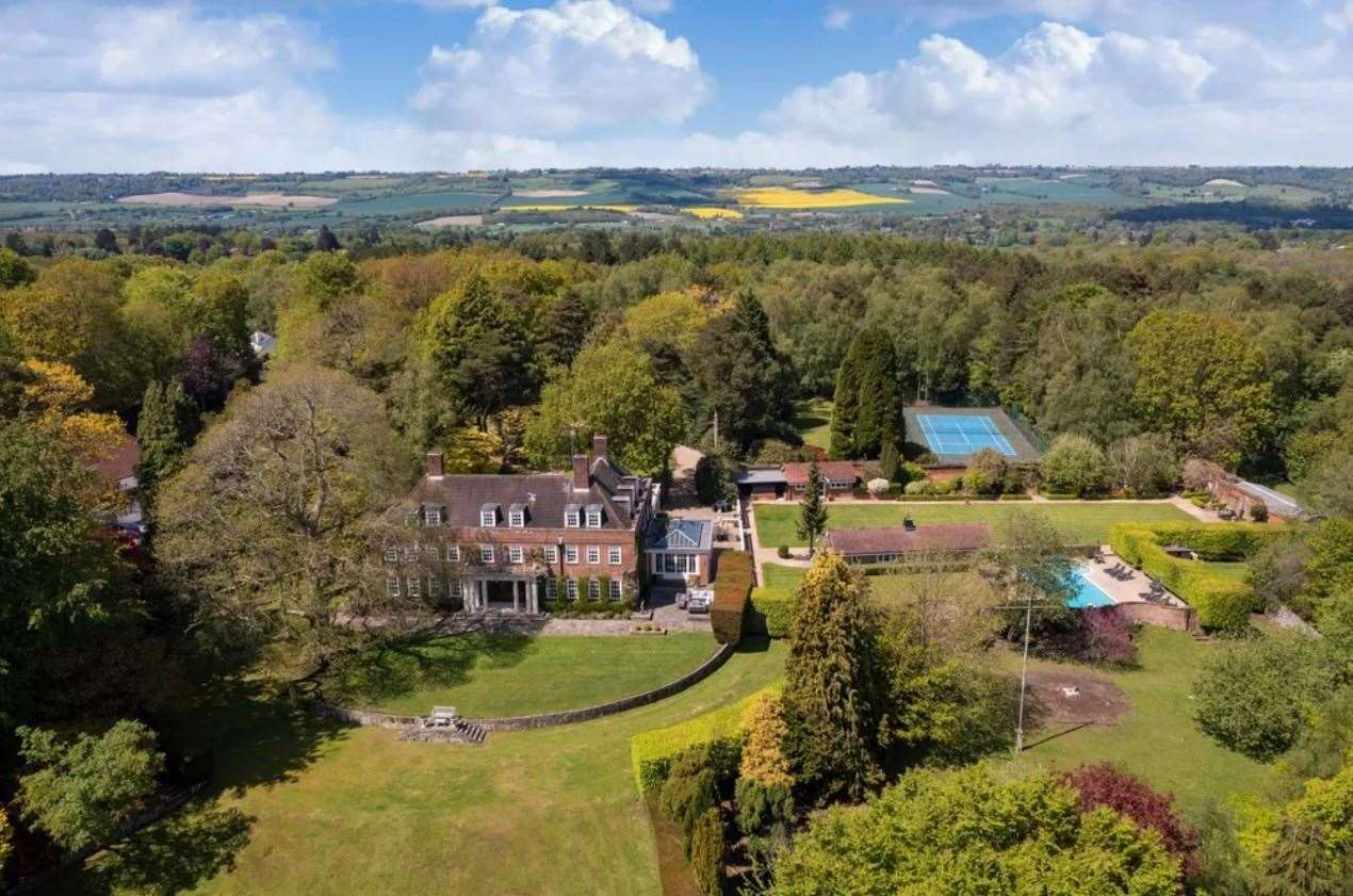 A look at the whole estate. Picture: Zoopla / Knight Frank