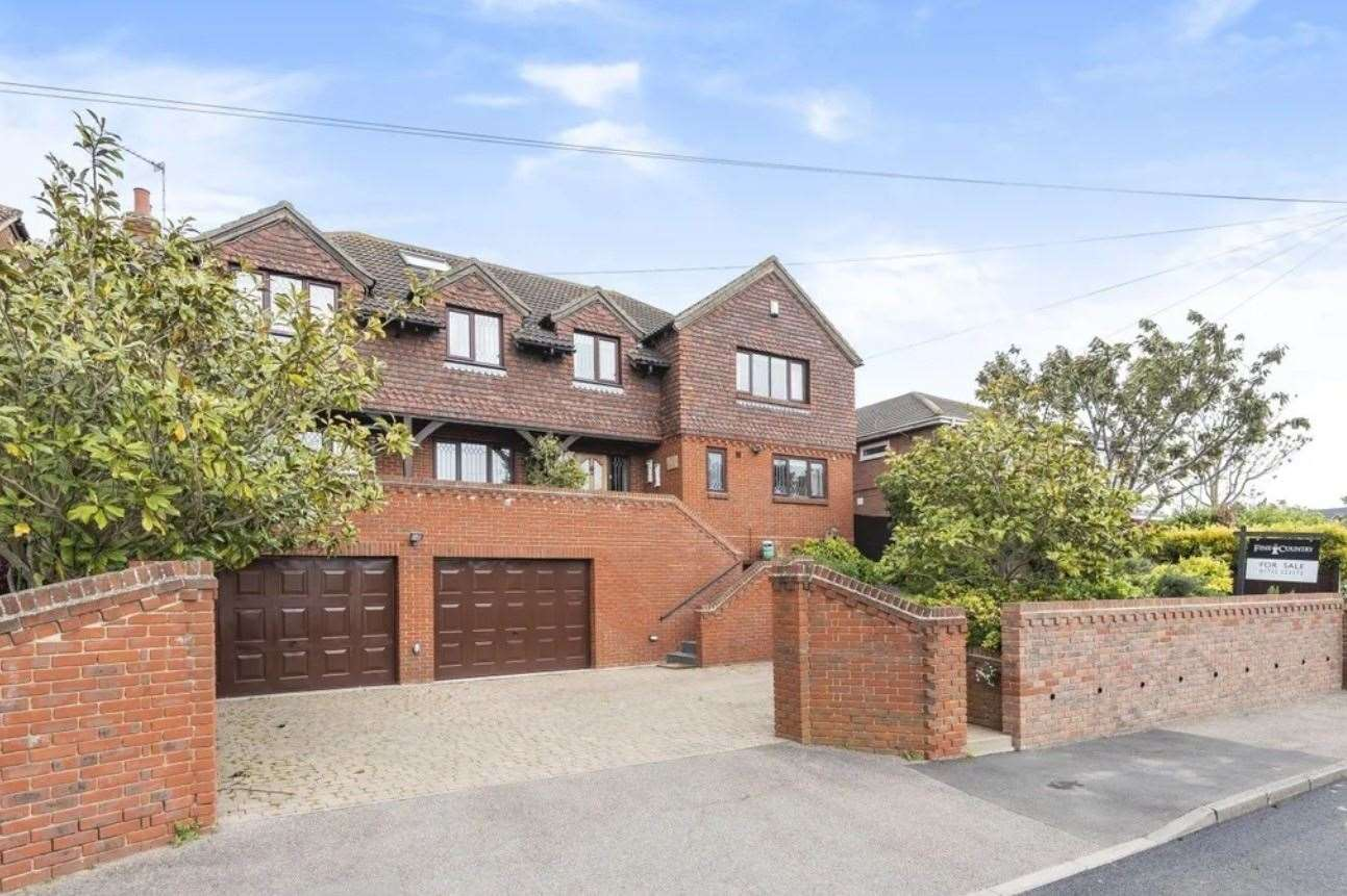 The six-bed detached house in Queenborough Drive, Minster-on-Sea. Picture: Zoopla / Fine & Country