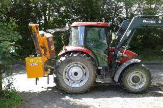 Police have released images of the tractor.