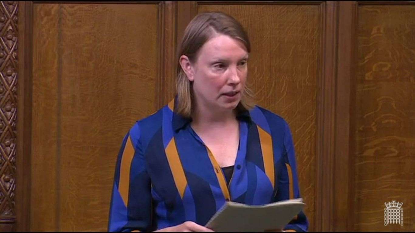 Tracey Crouch introduces her 10-minute Bill on sports coaches being made 'persons of trust' to Parliament (37158146)
