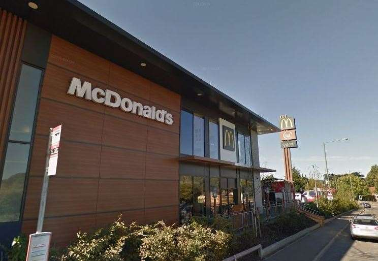 McDonald's in Aylesford (7818750)