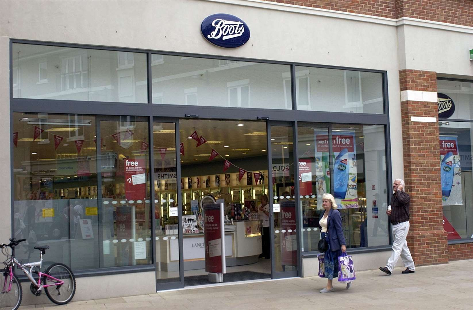 Boots in Canterbury's Whitefriars. Locations of stores to close have yet to be announced