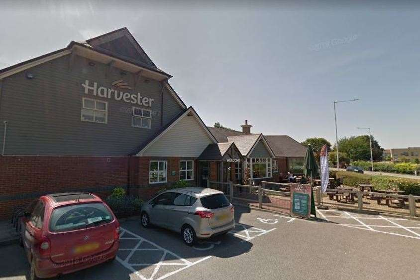 The Harvester in Westwood Road, Broadstairs. Picture: Google Street View (7823549)