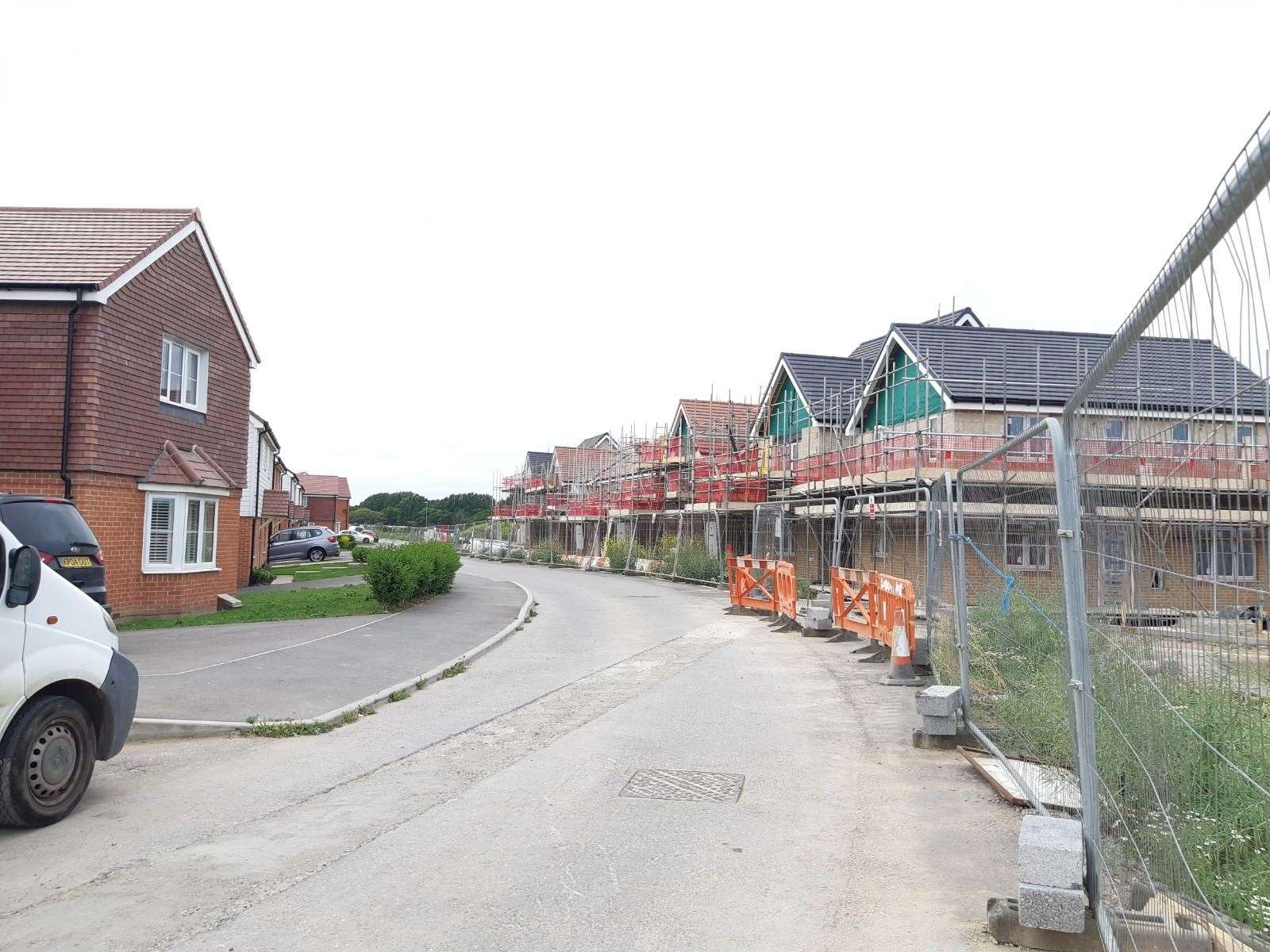 Persimmon is currently building 70 more homes, in addition to 230 already constructed