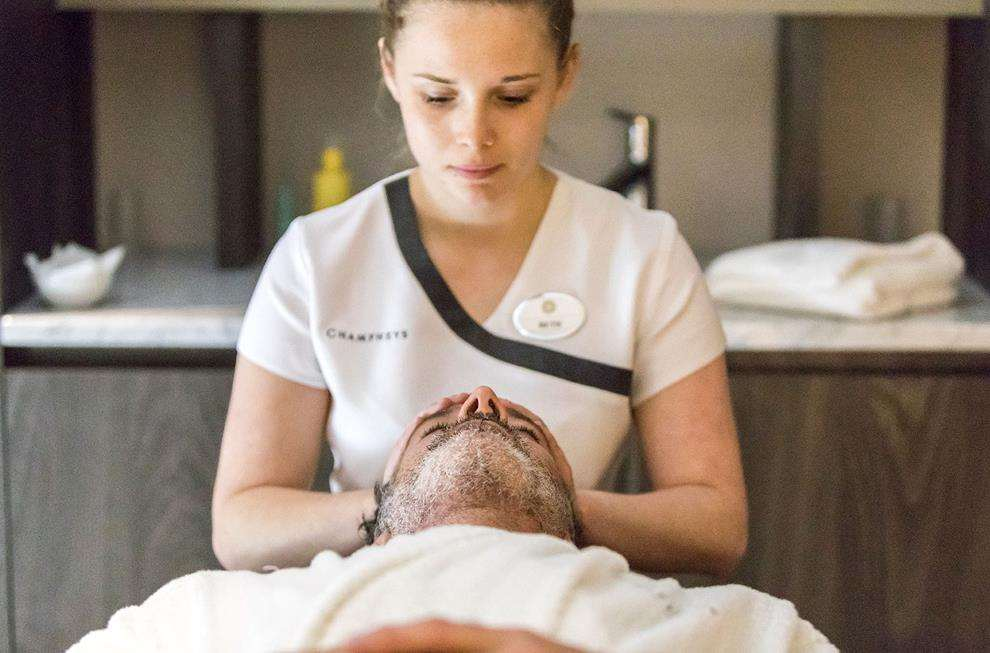 Relax and enjoy a treatment at Champneys spa Picture: Steve Lancefield