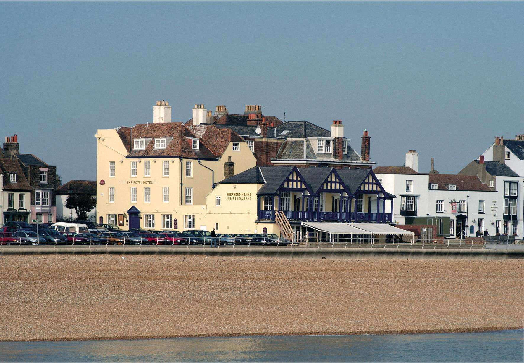 The Royal Hotel in Deal