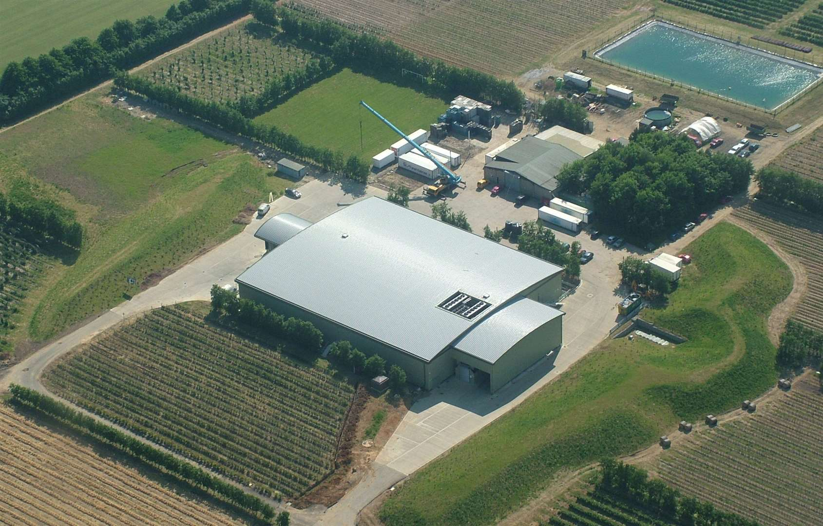 Winterwood Farms in East Sutton, Maidstone, is one of the firms affected by the coronavirus crisis