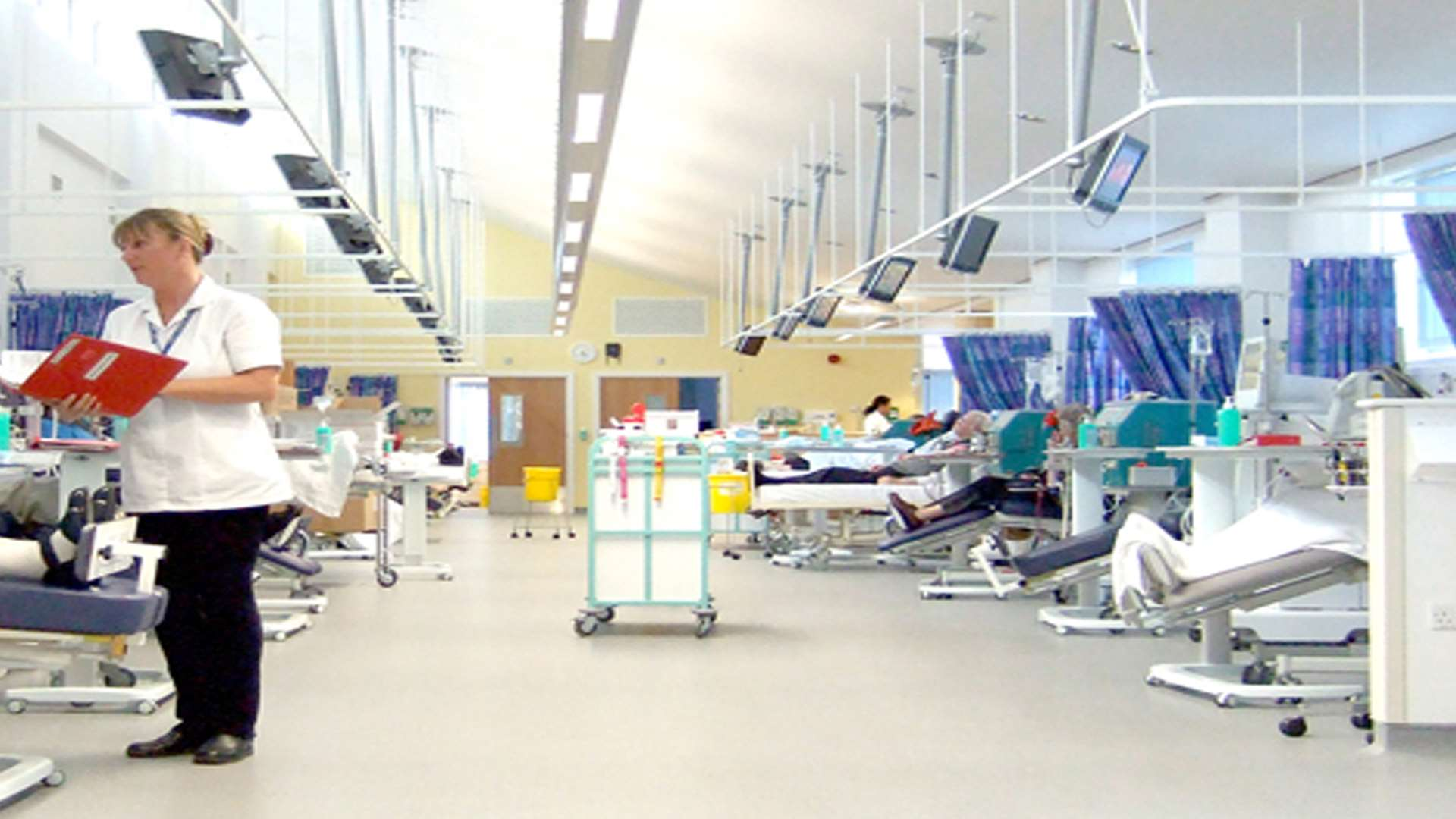 A dialysis unit. Stock image