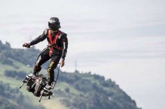 The Flyboard Air in action Picture: Zapata