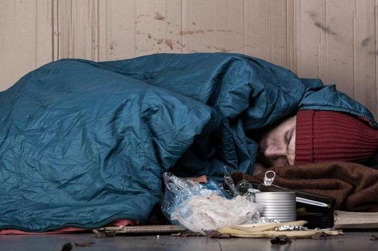 Canterbury City Council has received a grant of almost £1 million to tackle rough sleeping and homelessness. Picture: stock