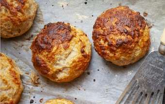 Hairy Bikers: Cheese and Marmite Scones