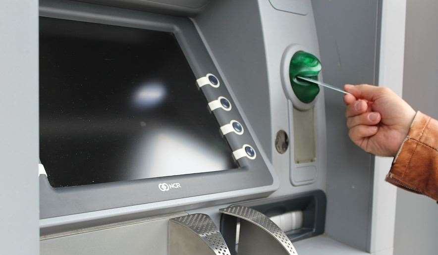 ATMs in Northfleet and Gravesend are reported to have been targeted.