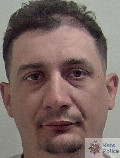 Marian Stoica from Romania has been locked up. Picture: Kent Police