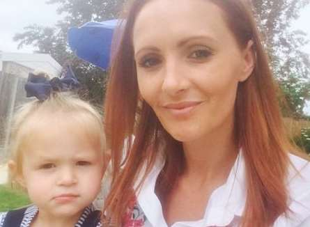 Mum Charlene Gibbard was stabbed while sitting in her car parked at Tesco, Sheerness, as her two-year-old daughter Eila slept in the back seat