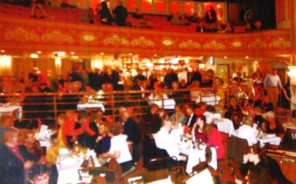 Audience members at the opera, before the building became a pub (Picture: Wetherspoon)