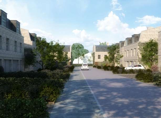 Artists impression of the new development