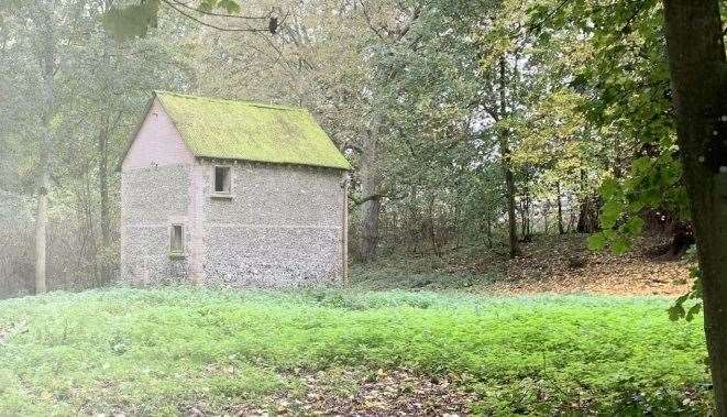 The Byre, a lonely outbuilding on the Godmersham estate could become a holiday home