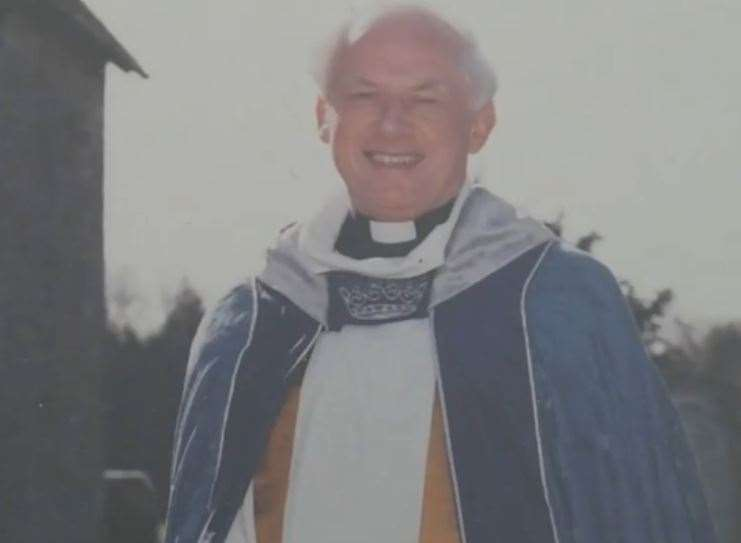 The Rev Philip Clements retired in 1999. Picture: BBC South East