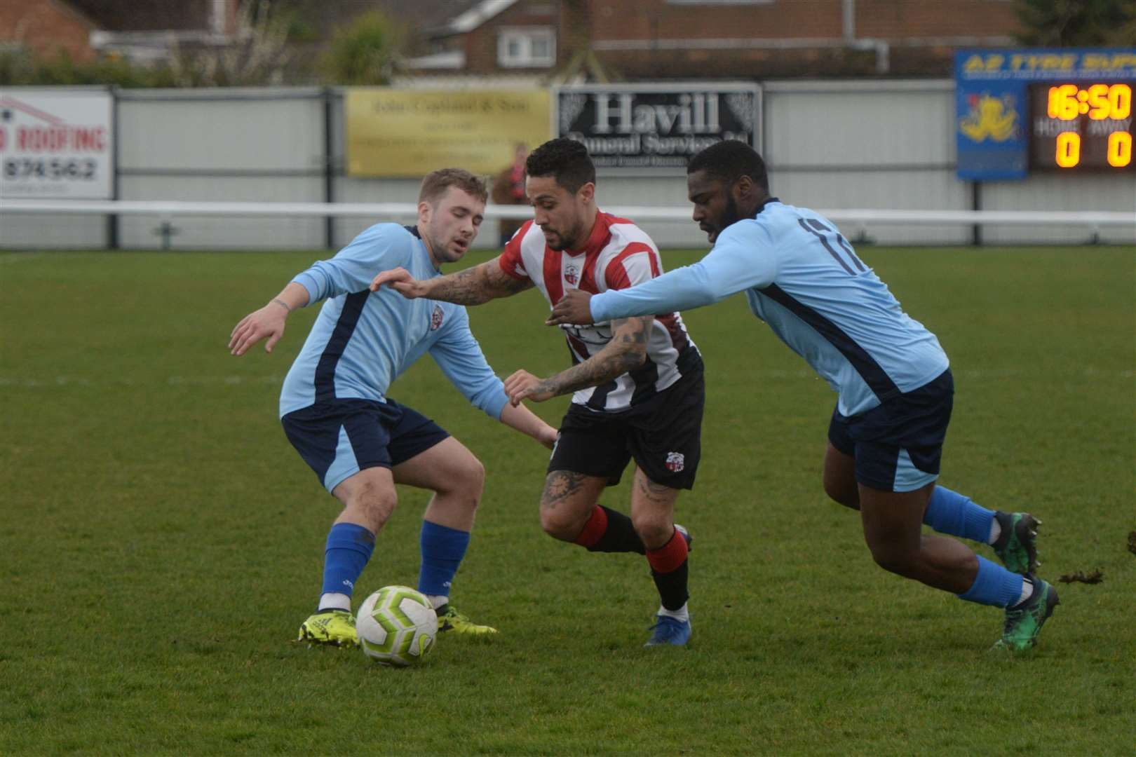 Sheppey take on Glebe during the last weekend of the now expunged 2019/20 SCEFL season Picture: Chris Davey