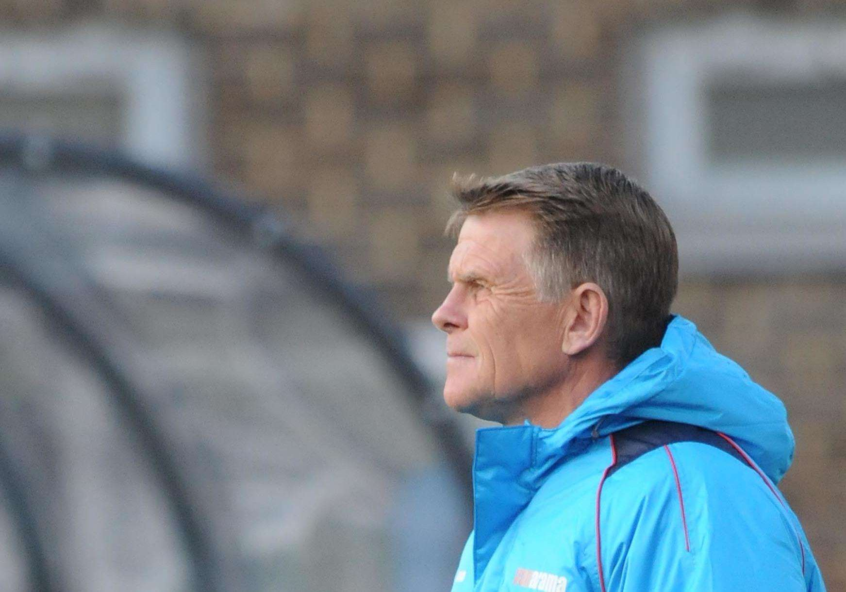 Dover manager Andy Hessenthaler. Picture: Wayne McCabe