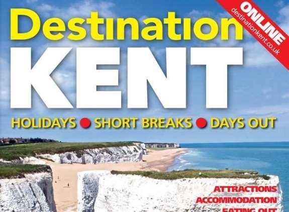 The 2018 edition of Destination Kent will be released before Easter