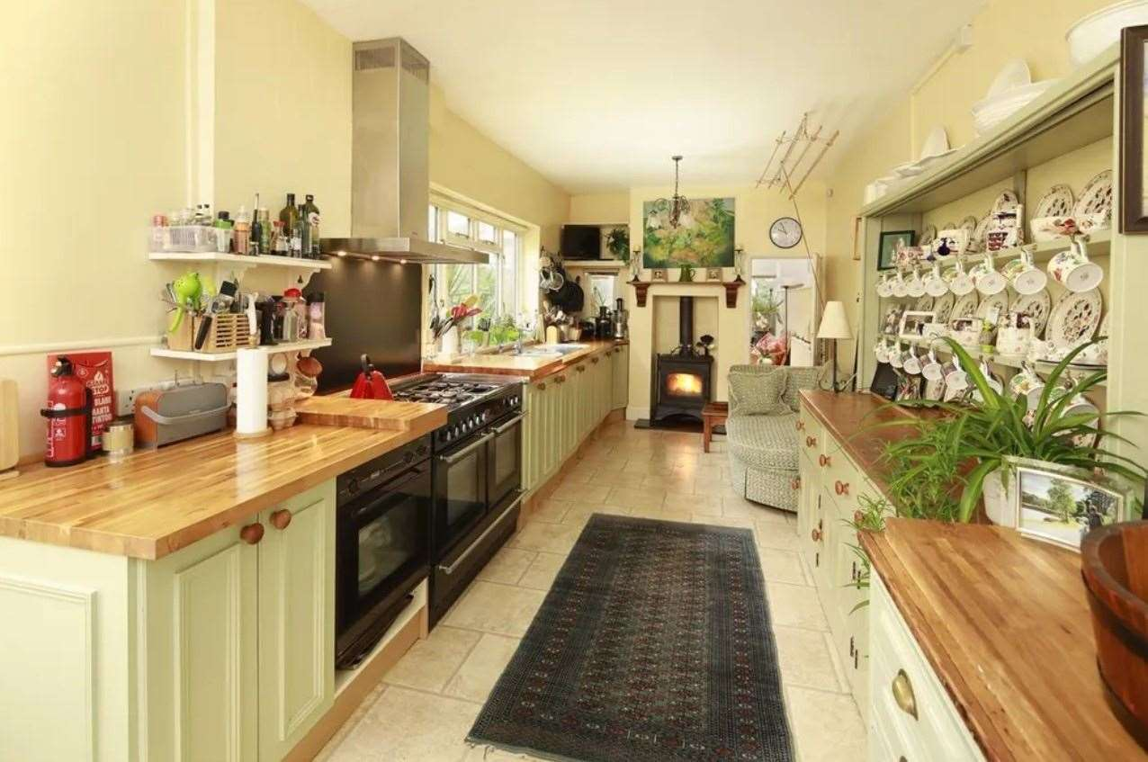 A look at the kitchen in the property, which is currently run as a B&B. Picture: Zoopla / Foundation Estate Agents