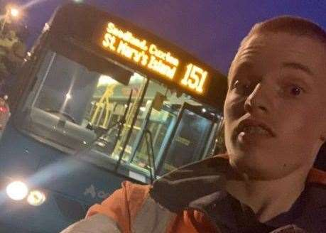 Cameron Abbotts is trying to launch a campaign to save the evening 151 bus service (15711409)