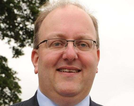 Scott Farrell, former director of music at Rochester Cathedral (11331006)