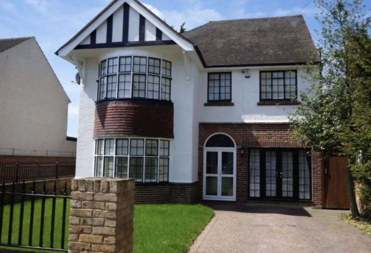 The four-bed detached house in Lennox Road. Picture: Zoopla / Balgores Gravesend