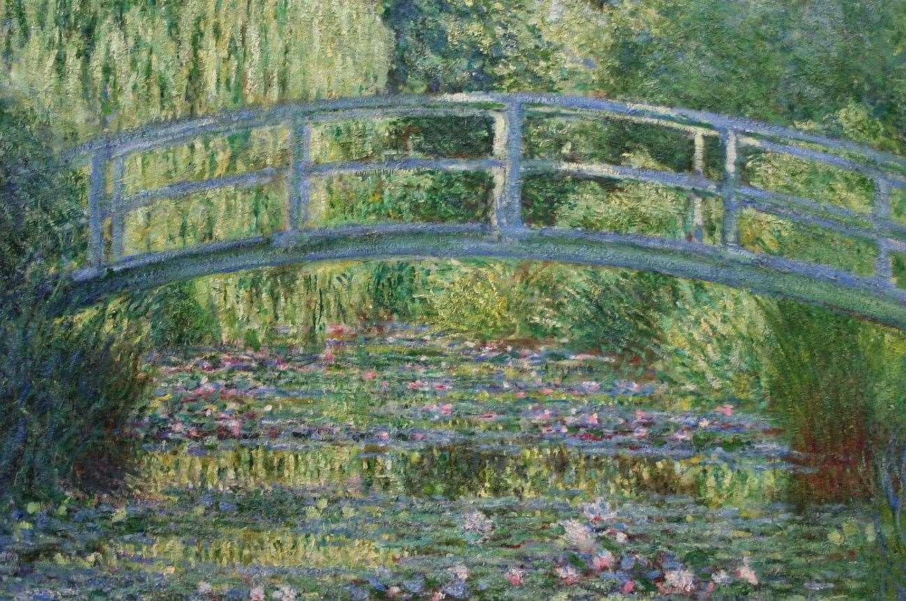 The plans for Davington Priory have been inspired by Monet's paintings
