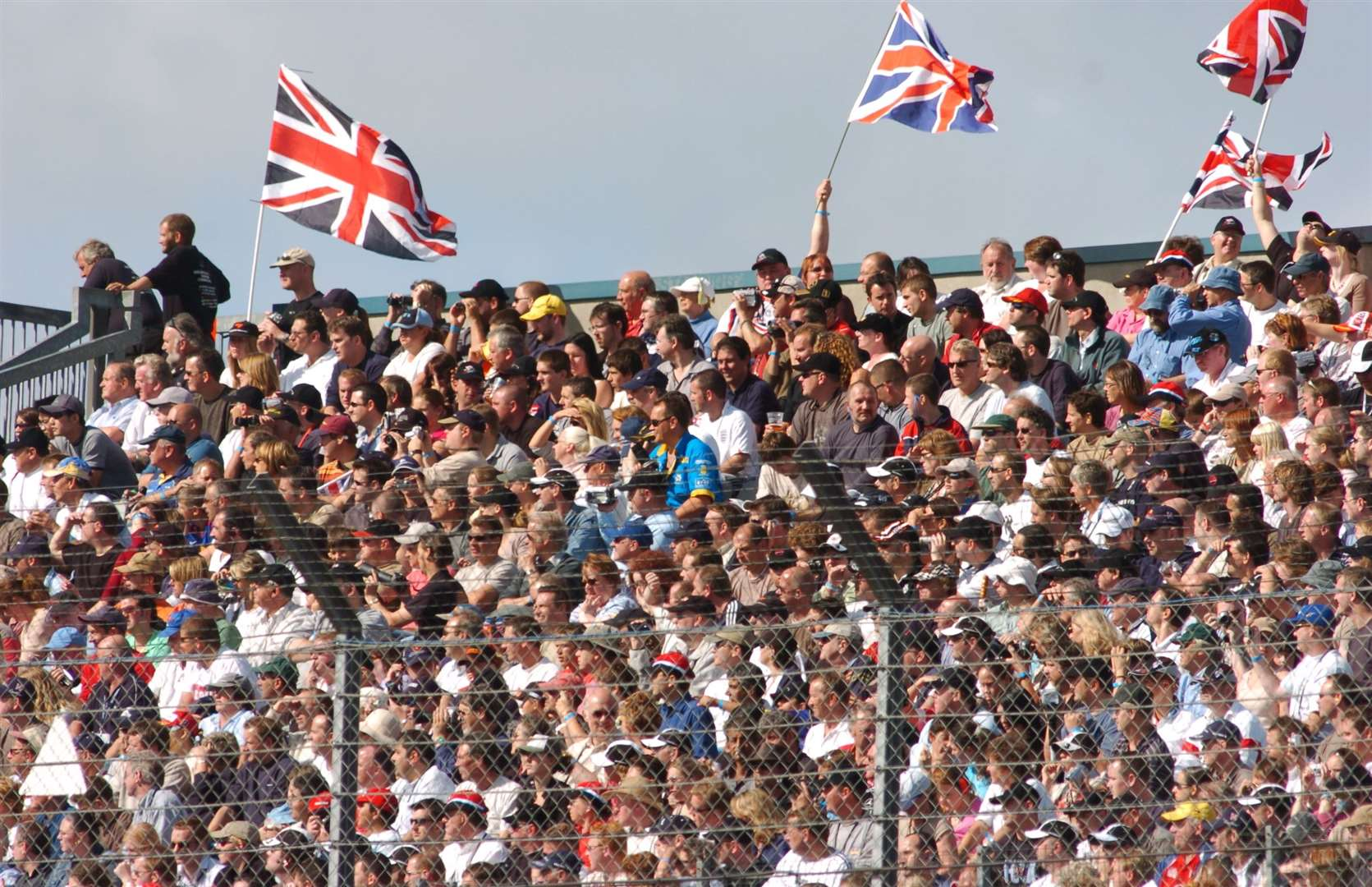 Thousands attended the first-ever A1 event in September 2005. Picture: Barry Goodwin