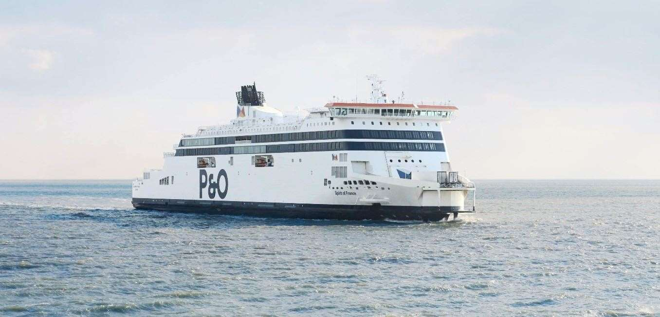 The P&O Ferries service runs 23 times a day with a sailing duration of 1 hour 30 minutes.