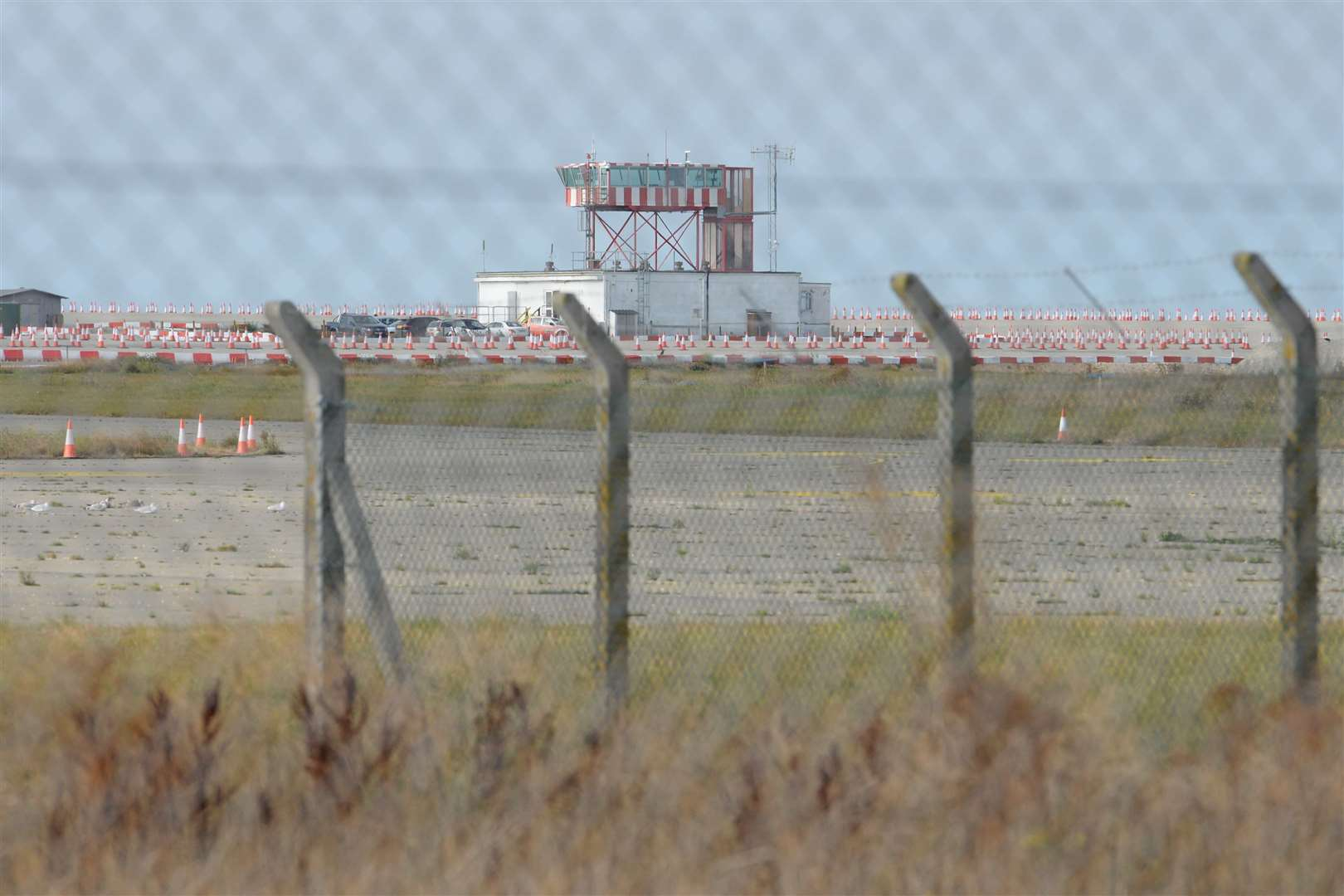 The former Manston Airport. Picture: Chris Davey