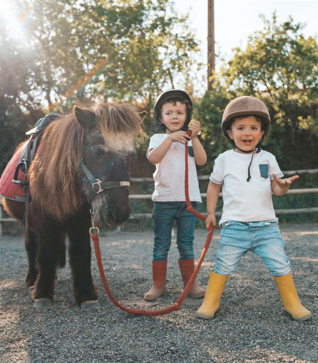 Pony rides will be on offer at the Kent County Show