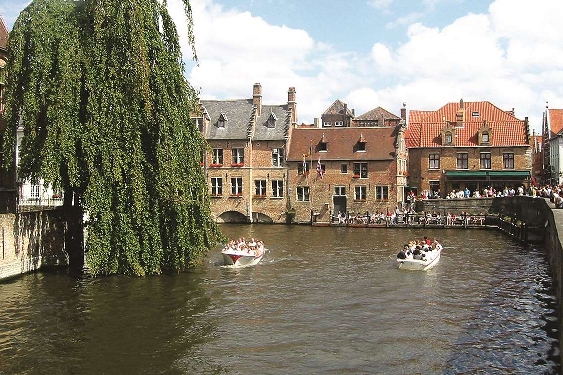 Today, Bruges attracts visitors from across the globe