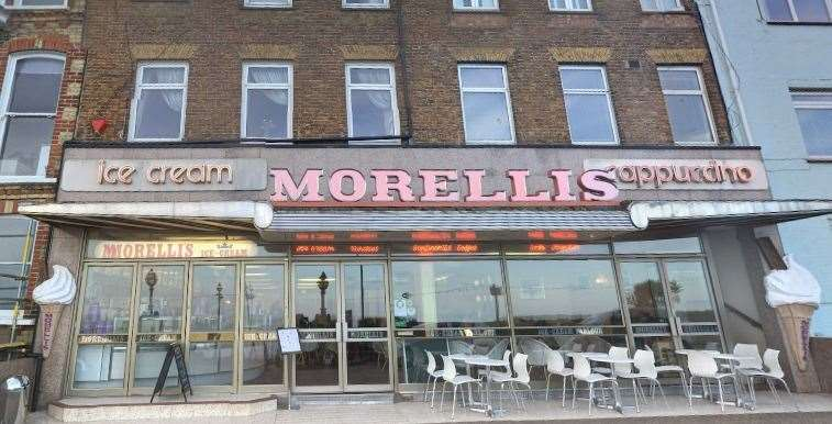 Morelli's opened in Margate in 1932
