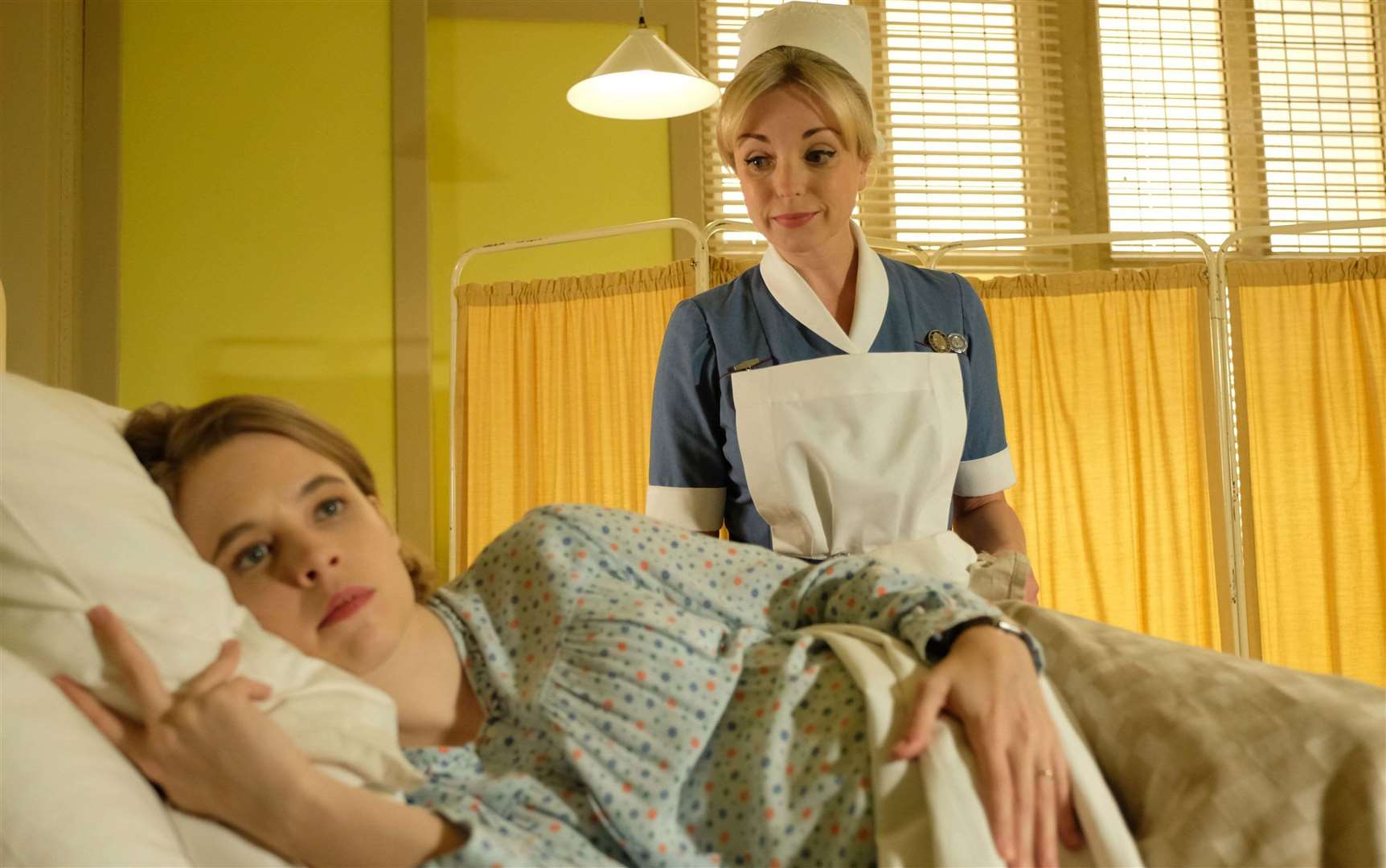 Helen George will be back as Nurse Trixie Franklin for series eight of Call the Midwife. Picture: PA Photo/BBC/Neal Street Productions